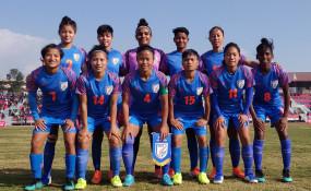 भारतीय महिला फुटबाल टीम दक्षिण एशियाई खेलों के फाइनल में