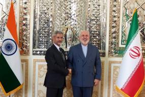 ईरानी विदेशमंत्री से मिले जयशंकर, चाबहार बंदरगाह के विकास पर बनी सहमति