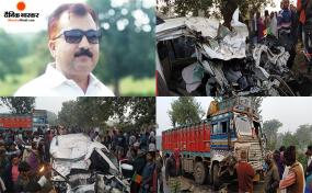 झारखंड हादसा: EVM मशीन जमा करवा कर वापस आ रहे BJP विधायक के भांजे समेत 4 की मौत