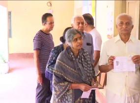 कर्नाटक की 15 सीटों पर उपचुनाव, 66.25 प्रतिशत हुआ मतदान