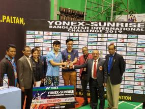 लक्ष्य ने जीता बांग्लादेश इंटरनेशनल चैलेंजर टूर्नामेंट, इस साल यह उनका पांचवां खिताब