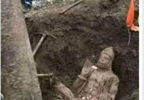 Fake News: क्या अयोध्या में मिली बजरंगबली की मूर्ति?