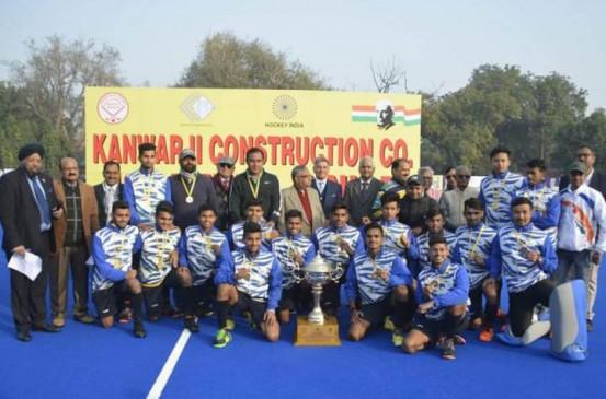 एक साल में तीनों वर्गों में नेहरू टूर्नामेंट जीतने वाला देश का एकमात्र राज्य बना मध्य प्रदेश