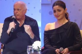 बेटी शाहीन की बुक लॉन्च पर महेश भट्ट ने खोया आपा, आलिया ने किया शांत