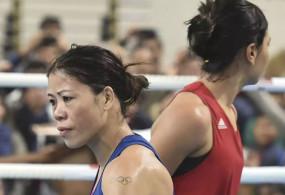 मैरीकॉम ने निखत को 9-1 से दी करारी शिकस्त, चीन में खेलेंगी ओलिंपिक क्वालिफायर