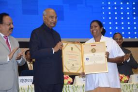चंद्रपुर की छाया पाटील को राष्ट्रीय फ्लोरेंस नाइटिंगेल पुरस्कार