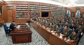 उत्तर कोरिया: किम जोंग ने सैन्य क्षमताओं को बढ़ाने के लिए की बैठक