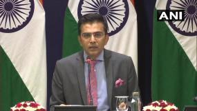 पाक पीएम को भारत का करारा जवाब, कहा- पहले अपने अल्पसंख्यकों पर ध्यान दें
