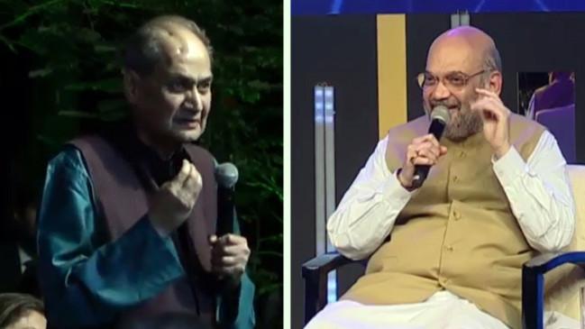 राहुल बजाज ने अमित शाह से कहा- लोग सरकार की आलोचना करने से डरते हैं