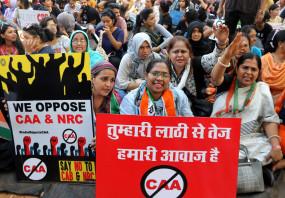 सीएए के खिलाफ जोरदार प्रदर्शन :फिल्मी हस्तियों ने किया विरोध, शामिल नहीं हुई शिवसेना