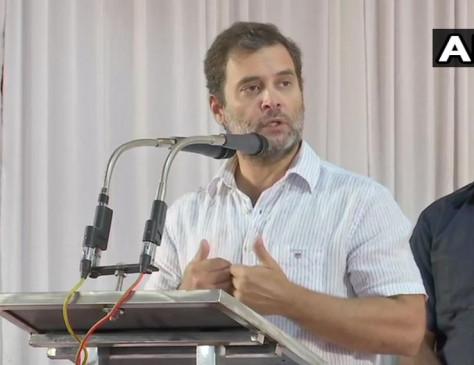 राहुल बोले, 'बलात्कार की राजधानी' के रूप में जाना जाने लगा है भारत