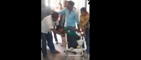 कामठी में रेलवे सफाई रेलवे कर्मी को सर्पदंश , हालत गंभीर, उपचार जारी