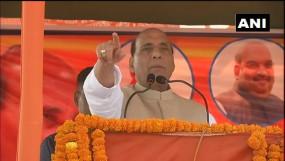 झारखंड में बोले राजनाथ- अब हमें मंदिर बनाने से कोई नहीं रोक सकता