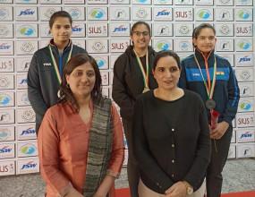 शहडोल की बांधवी ने नेशनल शूटिंग चैंपियनशिप में जीते चार गोल्ड