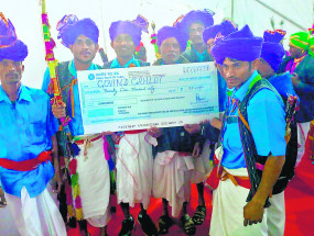राष्ट्रीय आदिवासी नृत्य महोत्सव में नागपुर को मिले दो पुरस्कार