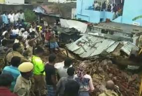 तमिलनाडु: कोयंबटूर में भारी बारिश का कहर, दीवार गिरने से 15 की मौत