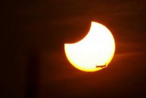 साल का आखिरी सूर्यग्रहण, भारत सहित इन देशों में दिखाई दिया