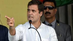'रेप इन इंडिया' वाले बयान पर संसद में हंगामा, राहुल बोले- नहीं मागूंगा माफी