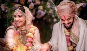 विराट-अनुष्का की शादी को हुए दो साल, सोशल मीडिया पर एक दूसरे को ऐसे दी बधाई