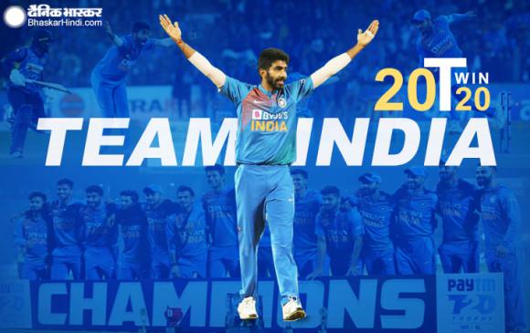 3rd T-20: टीम इंडिया ने श्रीलंका से लगातार छठवीं सीरीज जीती, अश्विन-चहल को पीछे छोड़ नंबर एक टी-20 गेंदबाज बने बुमराह
