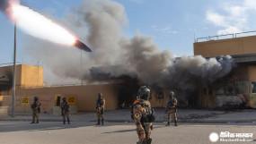 इराक: बगदाद में अमेरिकी दूतावास के पास फिर हुआ हमला, दागे गए 5 रॉकेट