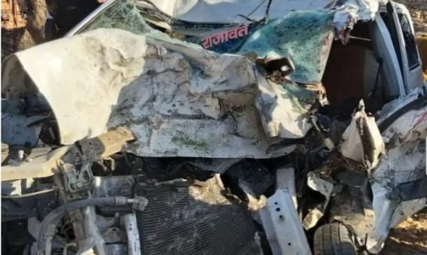 Accident: रॉन्ग साइड जा रही कार ट्रक से टकराई, एक मासूम सहित 6 लोगों की मौत