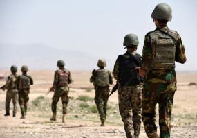अफगान सेना ने 18 आंतकियों को ढेर किया