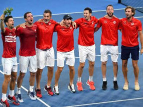ATP CUP: जोकोविच-विक्टर की जीत से सर्बिया क्वार्टर फाइनल में, फ्रांस को 2-1 से हराया