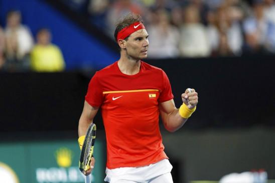 ATP CUP: नडाल-अगुट ने स्पेन को क्वार्टर फाइनल में जगह दिलाई