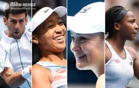 Australian Open 2020: जोकोविच, सितसिपास, नाओमी और बार्टी टूर्नामेंट के तीसरे राउंड में, 15 साल की गौफ भी अगले दौर में पहुंची
