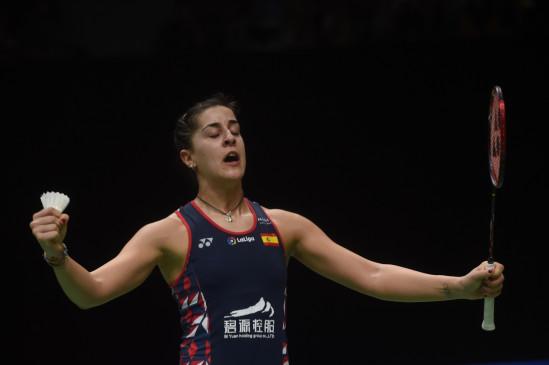 बैडमिंटन : मारिन को हरा इंतानोन ने जीता इंडोनेशिया मास्टर्स खिताब