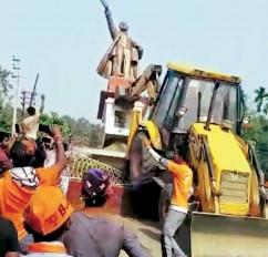 Fake News: भाजपा विधायक ने अंबेडकर की प्रतिमा को गिरवाया? वीडियो गलत दावे के साथ वायरल