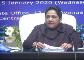 बयान: मायावाती का मोदी सरकार पर हमला, कहा- कांग्रेस के रास्ते पर बीजेपी