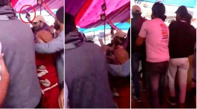 सीएए: शाहीन बाग में पिस्टल लेकर पहुंचा शख्स, प्रदर्शनकारियों ने भगाया, सामने आया वीडियो