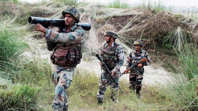 सीजफायर: पाक सेना ने सीमा पार से दागे मोर्टार, दो भारतीय जवान शहीद
