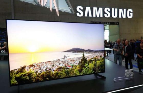 CES 2020: Samsung ने पेश किया 8K बेजल लैस टीवी, जानें खूबियां