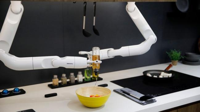 CES 2020: Samsung का ये रोबॉट आपके लिए तैयार करेगा नाश्ता, नाम मिला 'बॉट शेफ'