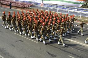 गणतंत्र दिवस पर कोलकाता में रंगारंग परेड