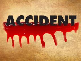 उप्र : डंपर से कुचलकर बाइक सवार युवक की मौत