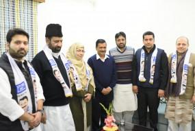 दिल्ली विधानसभा चुनाव: कांग्रेस को बड़ा झटका, पूर्व विधायक शोएब इकबाल आप में हुए शामिल