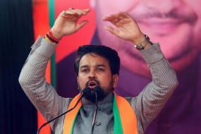 Delhi Election 2020 : अनुराग ठाकुर की विवादास्पद टिप्पणी, चुनाव आयोग ने भेजा नोटिस