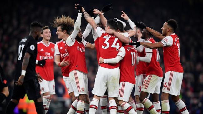 English premier league: आर्सेनल ने युनाइटेड को 2-0 से हराया, 87 दिन बाद घरेलू मैदान पर मैच जीता