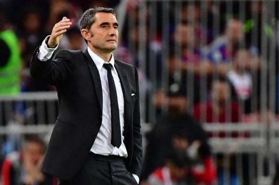 फुटबॉल: बार्सिलोना ने अपने मुख्य कोच एर्नेस्टो वेलवेर्डे को किया बर्खास्त