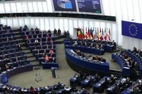यूरोपीय संसद में बुधवार को ऐतिहासिक ब्रेक्सिट पर मतदान