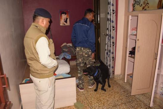 बेटी को परीक्षा दिलाने परिवार गया भोपाल, चोरों ने सूने मकान में चोरी कर सोने-चाँदी के जेवरात कर लिए पार