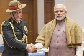 दिल्ली: पूर्व सेना प्रमुख बिपिन रावत संभाला CDS का पदभार, PM मोदी ने दी बधाई