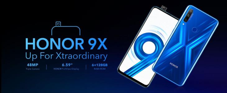 पॉपअप सेल्फी कैमरे के साथ Honor 9X भारत में लॉन्च, जानें दमदार फीचर्स और कीमत