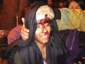 जेएनयू हिंसा के खिलाफ गेटवे ऑफ इंडिया पर सैकड़ों छात्रों ने किया प्रदर्शन