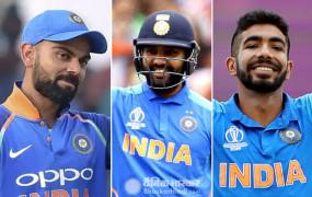 ICC ODI rankings: विराट-रोहित की बादशाहत कायम, बुमराह भी टॉप पर मौजूद