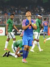नए साल में कई चुनौतियों से घिरी है भारतीय फुटबाल टीम
